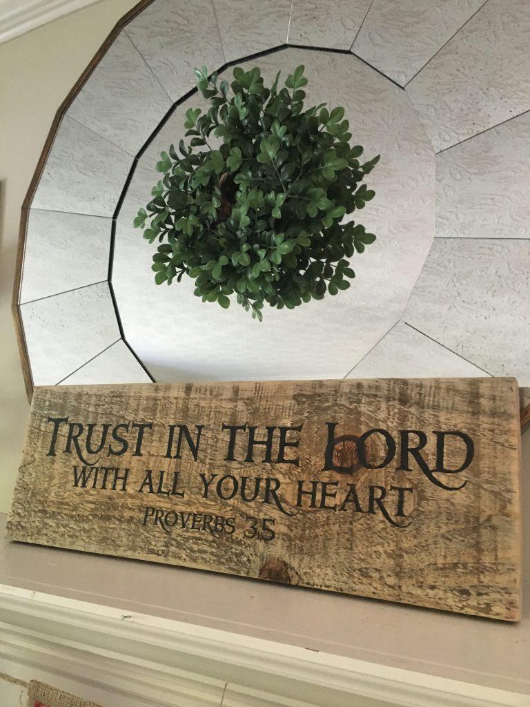Trust plaque