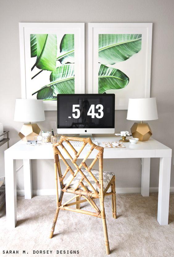 palm print - framed DIY