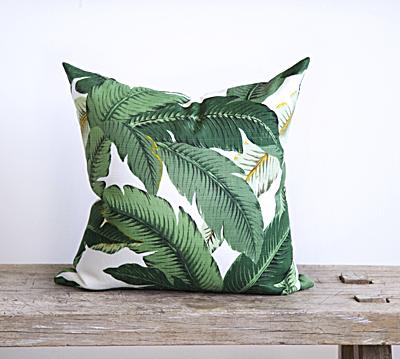 palm print - pillow