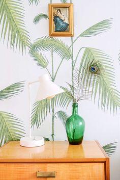 palm print - wallpaper