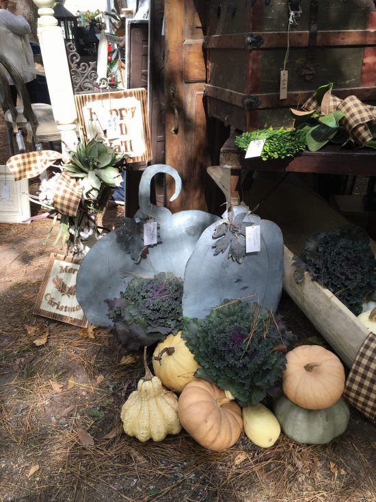 Country Living fair fall vignette