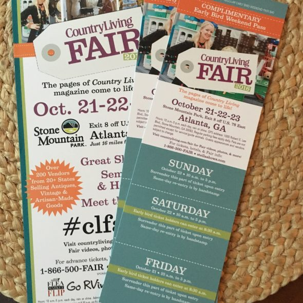 Country Living Fair giveaway