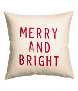 Christmas pillow cover H&M