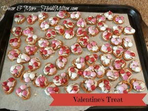 Valentine's Day sweet and salty treat