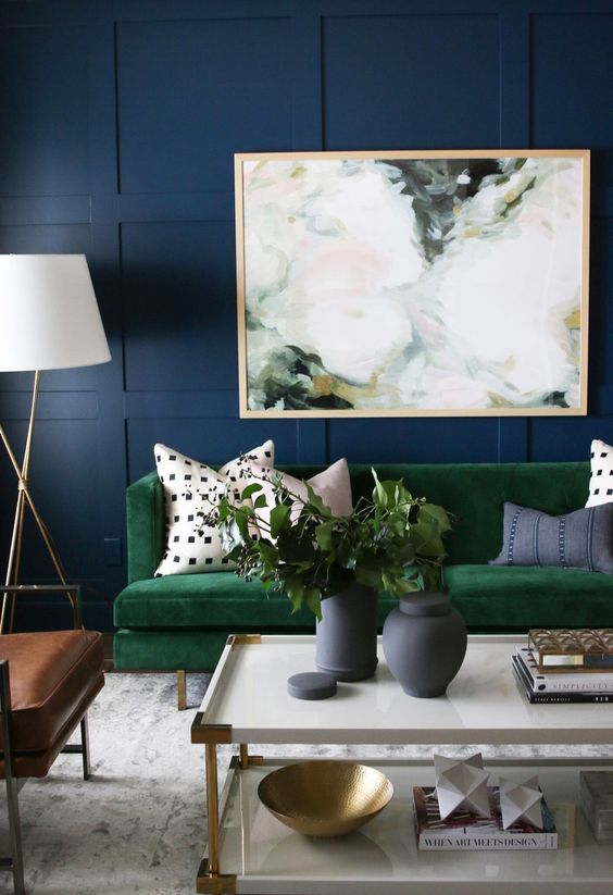 Decor Trends 2017 Navy
