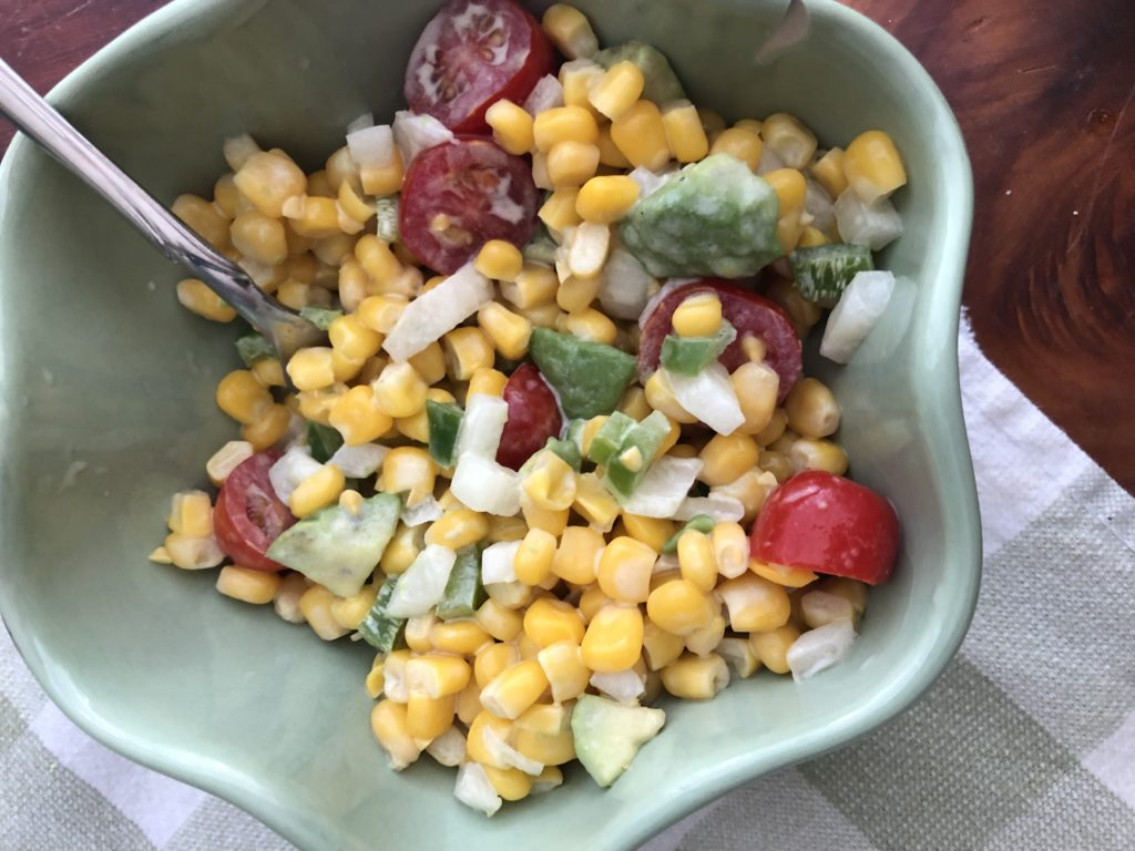 SAndy's summer corn salad